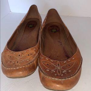 Earth origins Natalie leather slip on Moccasins
